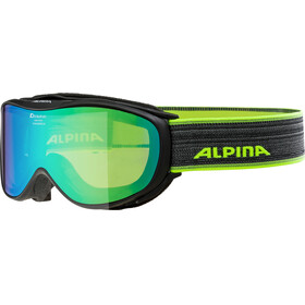 Alpina Challenge 2.0 Multimirror S2 Goggle black green